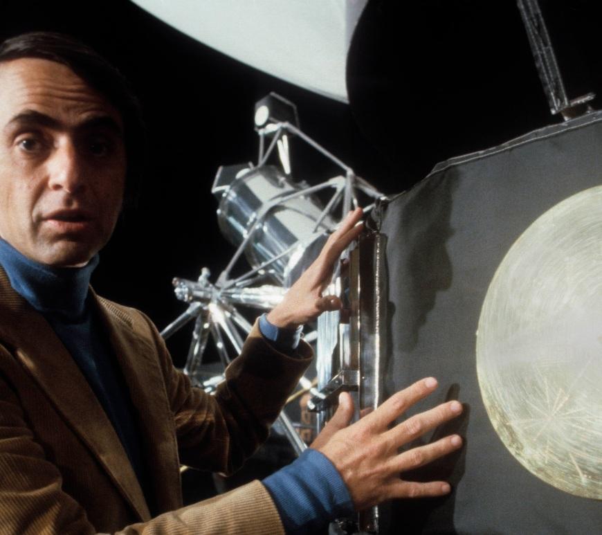 Carl Sagan - CineFatti