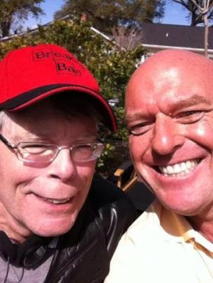 Stephen King e Dean Norris