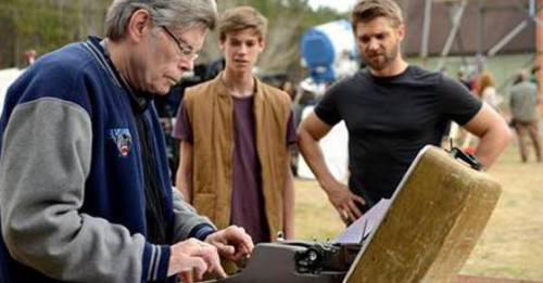Stephen King sul set di Under The Dome