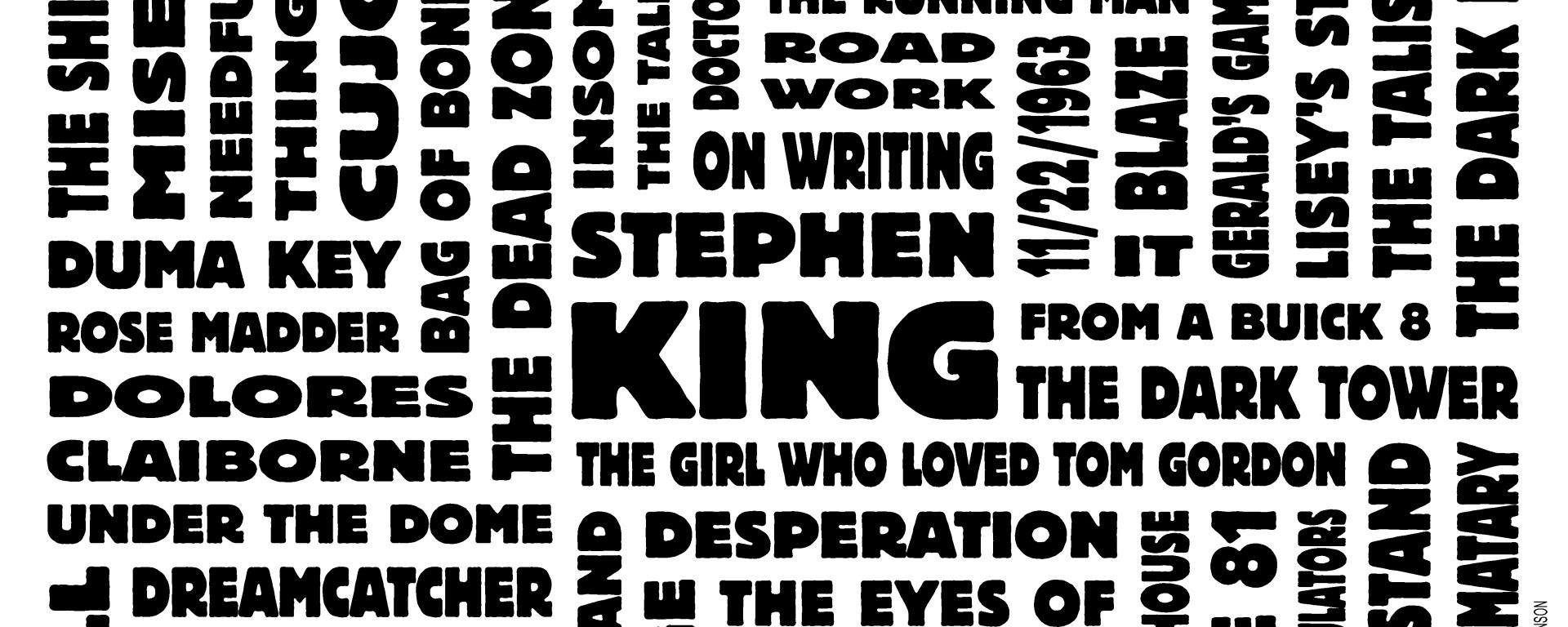 Stephen King Poster