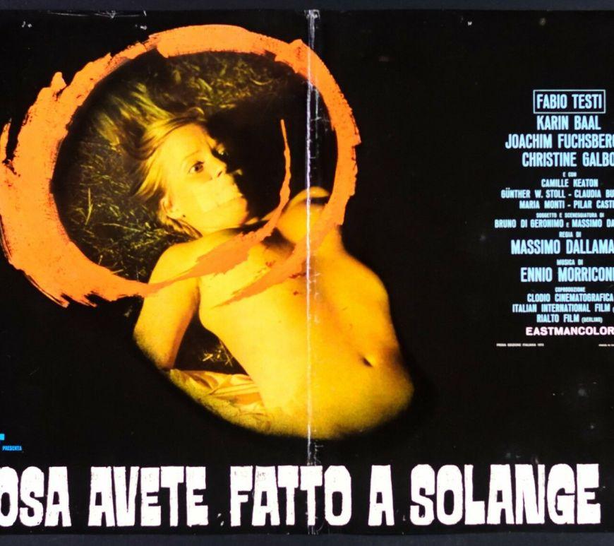 Cosa avete fatto a Solange - CineFatti