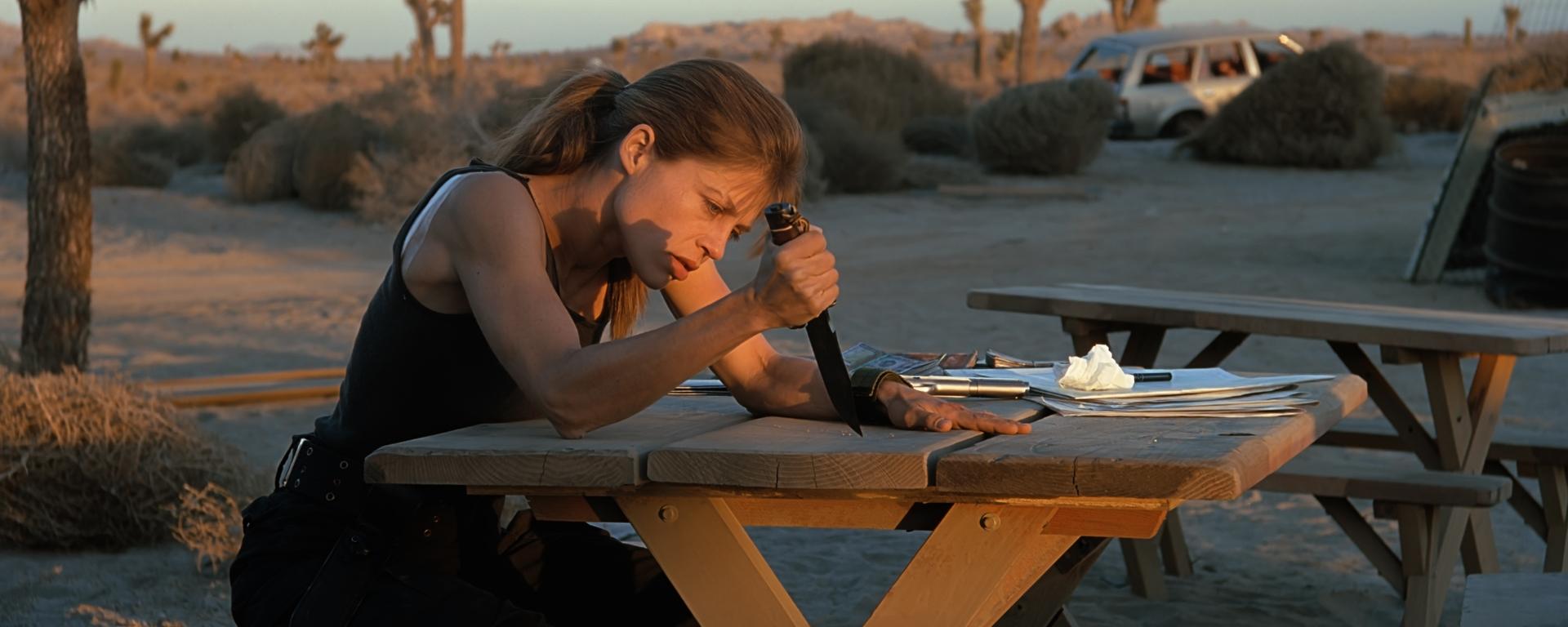 Linda Hamilton, Terminator - CineFatti