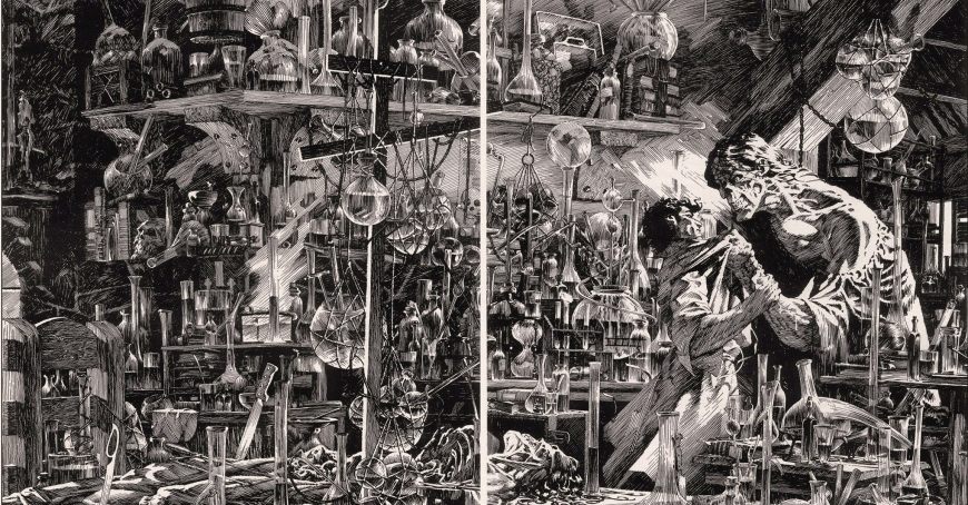 Frankenstein di Bernie Wrightson - CineFatti