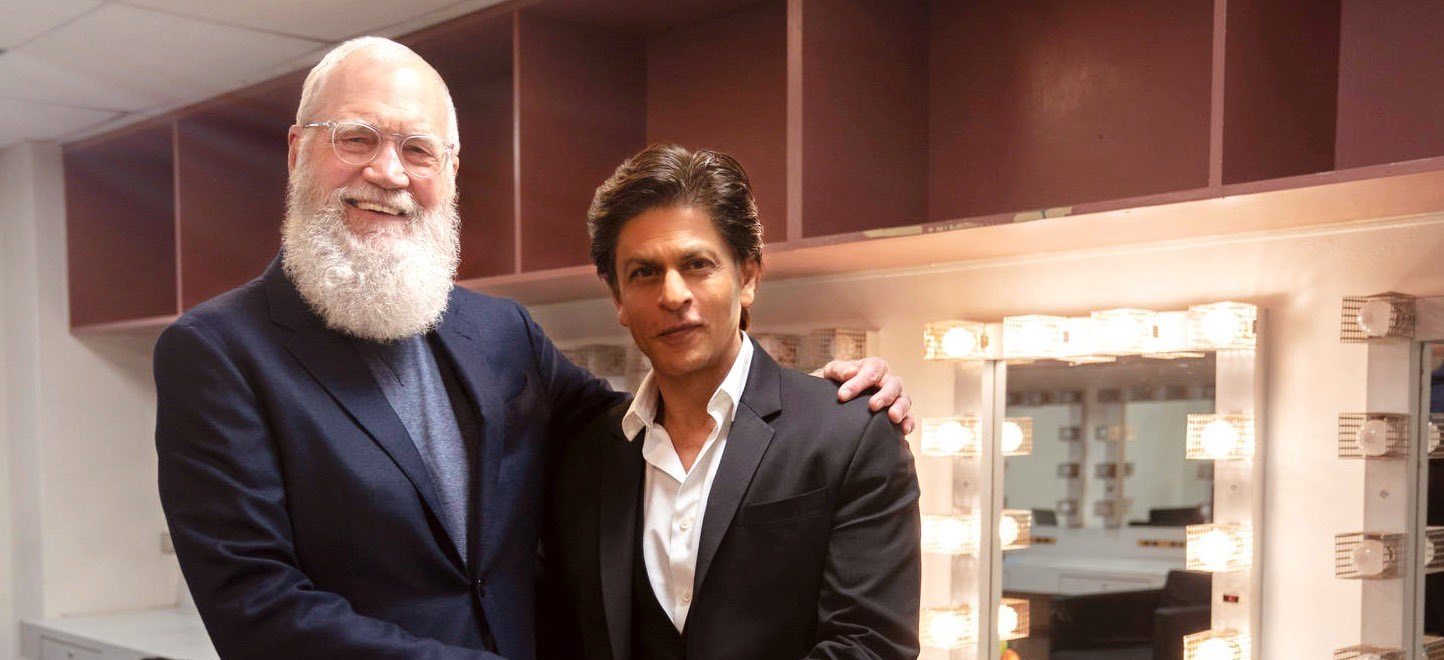 David Letterman e Shah Rukh Khan - CineFatti