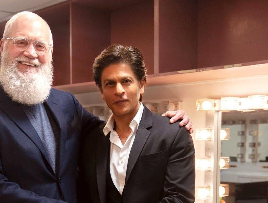 David Letterman e Shah Rukh Khan - CineFatti